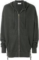 Faith Connexion oversized zipped hoodie