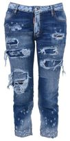 DSQUARED2 Glam Head Ripped Jeans