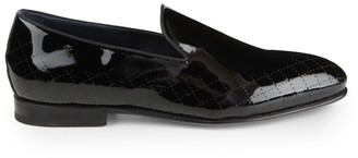 Sutor Mantellassi Guelfa Patent Leather Slip-On Loafers