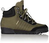 adidas Men's Jake 2.0 Nubuck Hiking Boots-DARK GREEN, BLACK