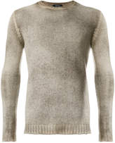 Avant Toi stonewashed crew neck sweater