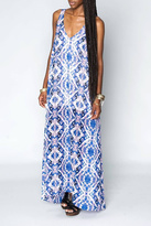 Show Me Your Mumu Purple Maxi Dress
