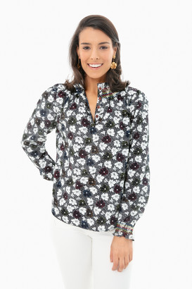 Warm Floral Ines Blouse