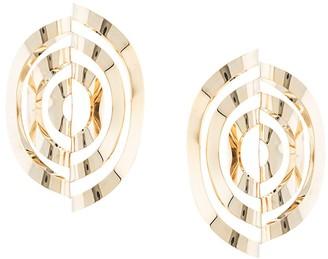 Y/Project Oversize Spiral Earrings