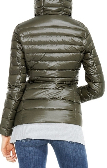 Vince Camuto Hooded Packable Down Jacket
