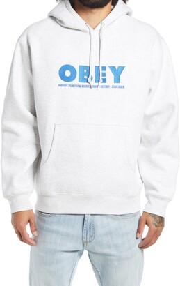 Obey Hubbs Logo Hoodie