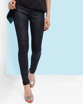 Ted Baker Metallic zig-zag skinny jeans