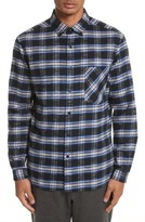 TOMORROWLAND Men's Bradford Plaid Flannel Sport Shirt
