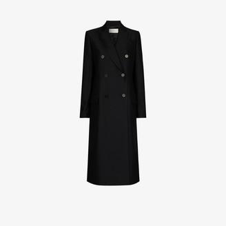 LVIR Double-Breasted Long Wool Coat