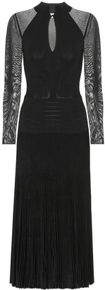 Victoria Beckham Pleated midi dress