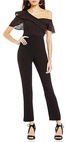 Gianni Bini Drew One Shoulder Jumpsuit