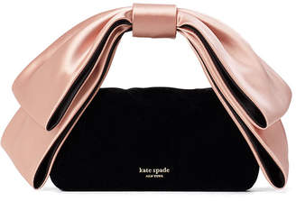 Kate Spade Bowie Mini Velvet Top-Handle Clutch Bag