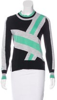 Tanya Taylor Wool Geometric Print Sweater