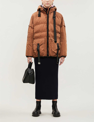 Pinko Strega padded and quilted shell jacket