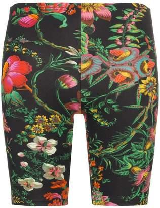 Paco Rabanne floral print cycling shorts