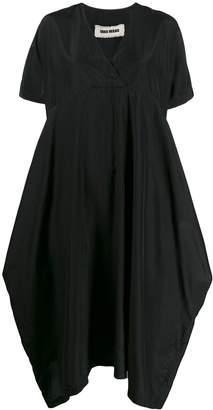 UMA WANG V-neck shirt dress