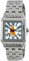 Disney Kids' W000468 Winnie the Pooh Perfect Square Bracelet Watch