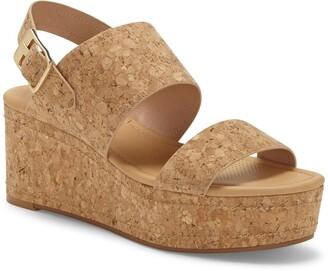Corso Como Fairen Platform Wedge Sandal