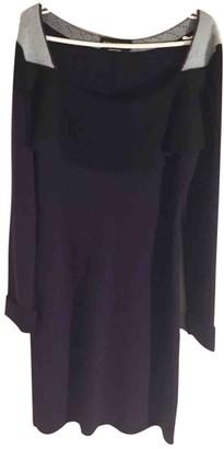 Sonia Rykiel Purple Wool Dresses