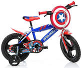 Captain America 14 Inch Kids Bike
