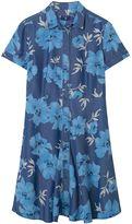 Gant Indigo Island Flower Shirtdress