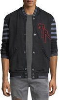 True Religion Collegiate Cotton Varsity Jacket