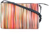 Paul Smith stripe pattern cross body bag