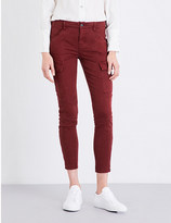 J Brand Houlihan skinny mid-rise jeans