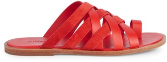 Vince Piers Toe-Loop Flats