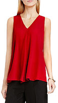 Vince Camuto Drape Front Sleeveless Blouse