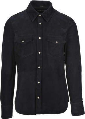 Tom Ford Shirt Style Leather Jacket