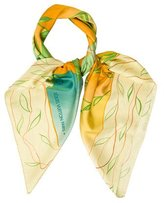 Louis Vuitton Monogram Plane Silk Scarf