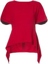 Proenza Schouler asymmetric hem blouse