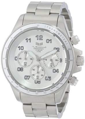 Vestal Men's ZR2006 ZR-2 Chrono Brushed Silver Watch