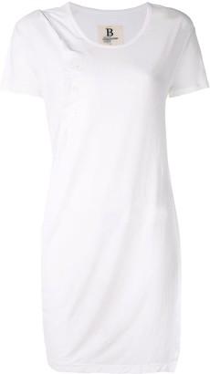 Yohji Yamamoto twisted drape T-shirt