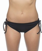 Nautica Women's Signature Tunnel-Side Bikini Bottom