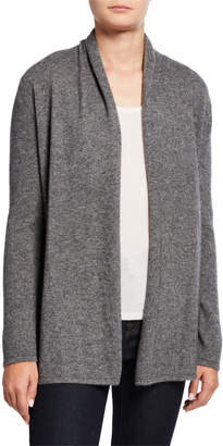 Neiman Marcus Cashmere Open-Front Cardigan