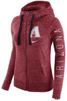 Nike Women's Arizona Diamondbacks Gym Vintage Full-Zip Hooded Sweatshirt