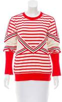 See by Chloe Striped Crew Neck Top