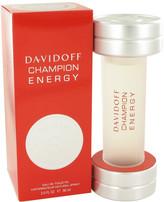 Davidoff Champion Energy by Eau De Toilette Spray for Men (3 oz)