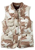 L.L. Bean Signature Packable Quilted Vest, Print