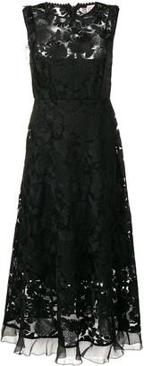 RED Valentino lace midi dress