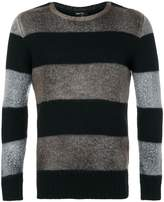Avant Toi striped crew neck sweater