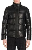 Emporio Armani Zip-Front Puffer Jacket