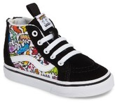 Vans Toddler Boy's X Dallas Clayton Sk8-Hi Sneaker