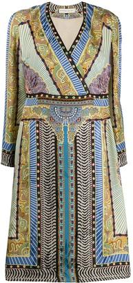 Etro Print Mix Dress