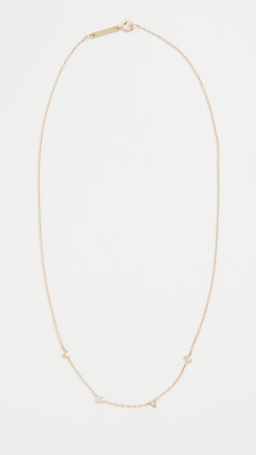 Zoë Chicco 14k Gold Tiny Love Necklace