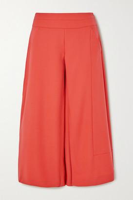 Palmer Harding palmer//harding - Vana Crepe Wide-leg Culottes - Orange