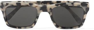 Prism D-frame Tortoiseshell Acetate Sunglasses