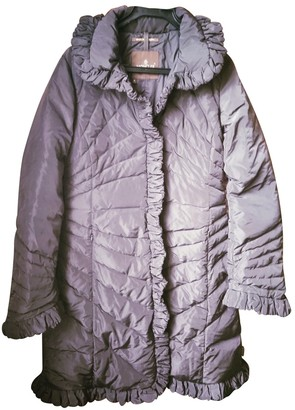 Moncler Long Brown Coat for Women